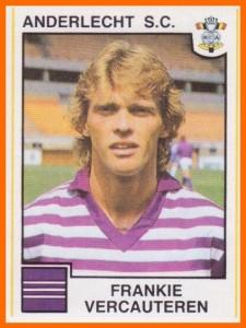 Frankie VERCAUTEREN Anderlecht 1984
